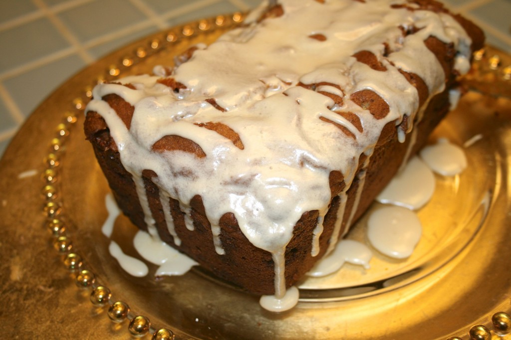 Spiced Pumpkin and White Chocolate Bread With Maple Glaze from Zagleft ...