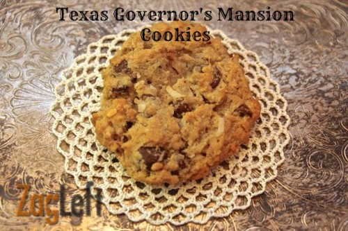 Texas Governors Mansion Cookies from ZagLeft main b
