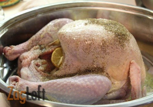 how to cook a turkey without a roasting pan