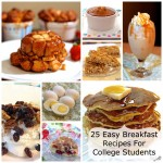 25 Easy Breakfast Recipes For College Students