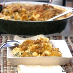 Mac and Cheese with Gruyere and kale | ZagLeft