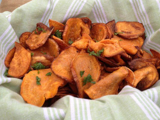 Sweet Potato Chips - ZagLeft
