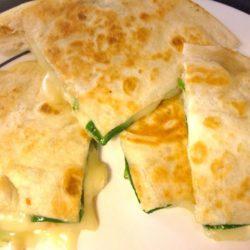 Spinach and brie Quesadilla | ZagLeft