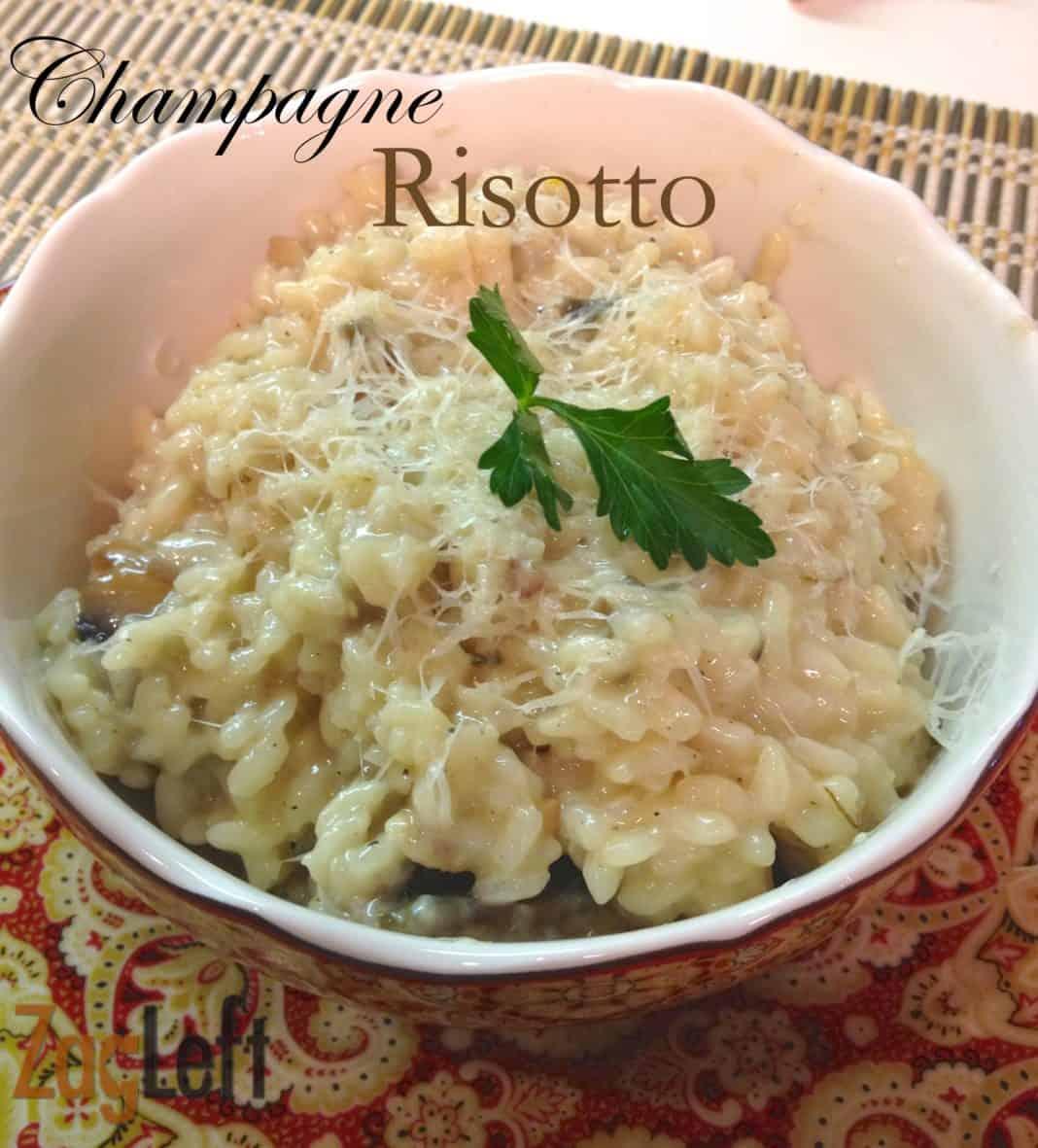Promo image for Champagne Risotto recipe