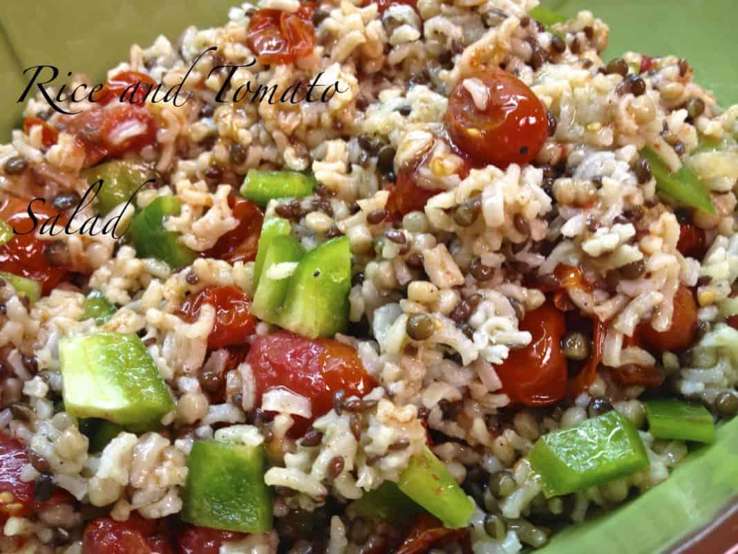 Promo image for Rice and Tomato Salad recipe