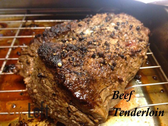 Beef Tenderloin from ZagLeft