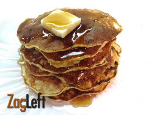 Two Ingredient Pancakes - Zagleft 1