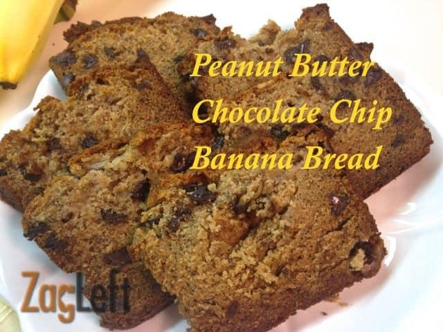 Peanut butter chocolate chip banana bread peanut butter chocolate chip banana bread from zagleft 3g forumfinder Gallery