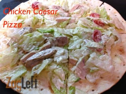 Chicken Caesar Pizza from Zagleft 1