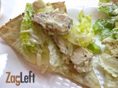 Chicken Caesar Pizza from Zagleft