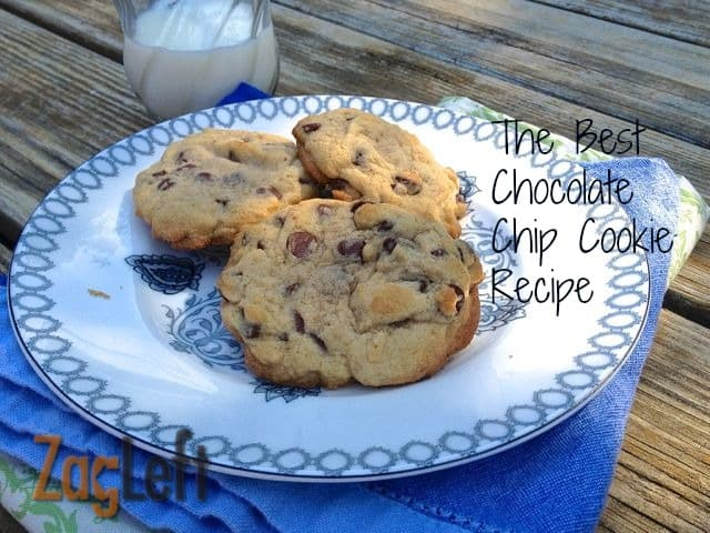 The Best Chocolate Chip Cookie Recipe from Zagleft