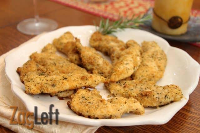Baked Italian Chicken Tenders from Zagleft c