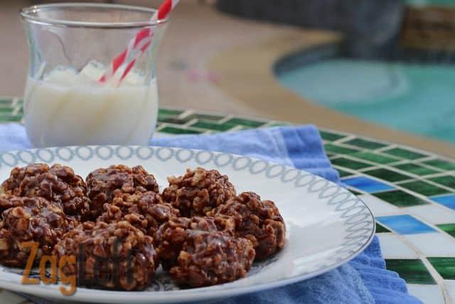 Promo image for Chocolate Peanut Butter Crispy Crunchies recipe