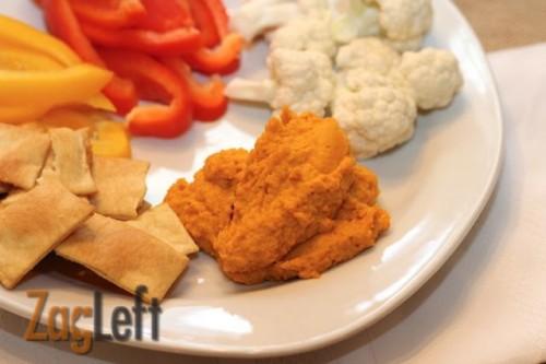 Carrot Hummus - ZagLeft