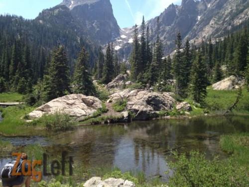 Dream Lake from ZagLeft
