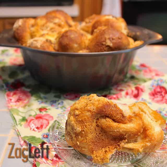 Pull Apart Breakfast Roll from ZagLeft d