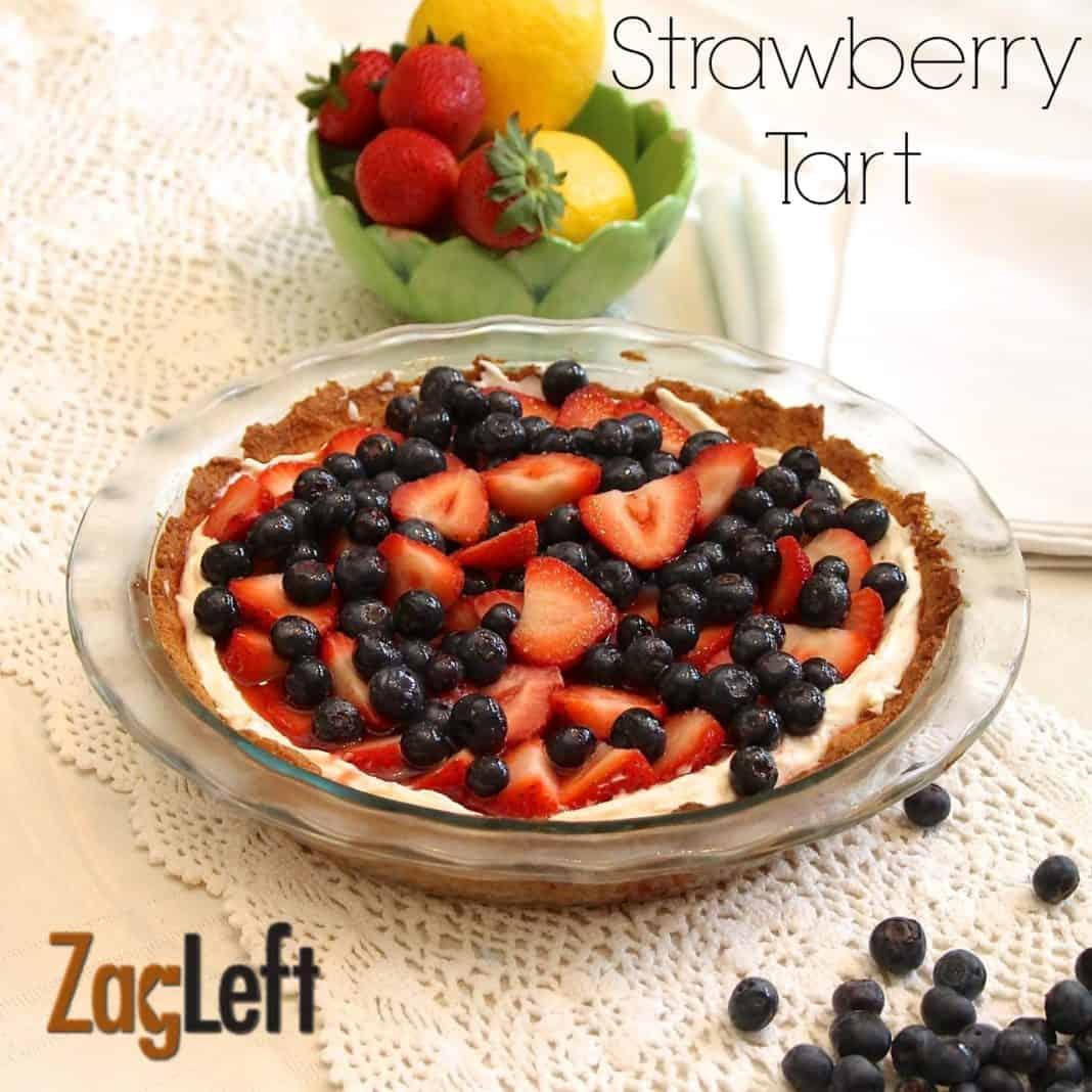 Strawberry Tart from ZagLeft