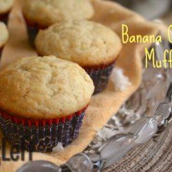 Banana Coconut Muffins from ZagLeft c