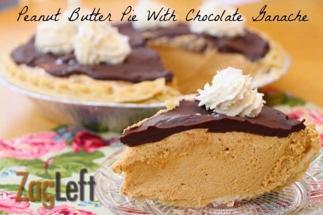 Peanut Butter Pie From ZagLeft