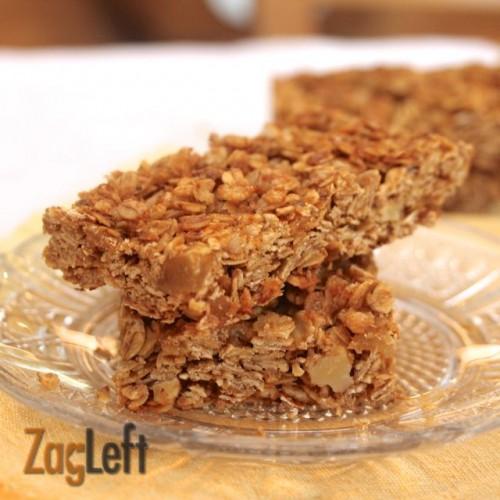 Tropical Granola Bars from ZagLeft i