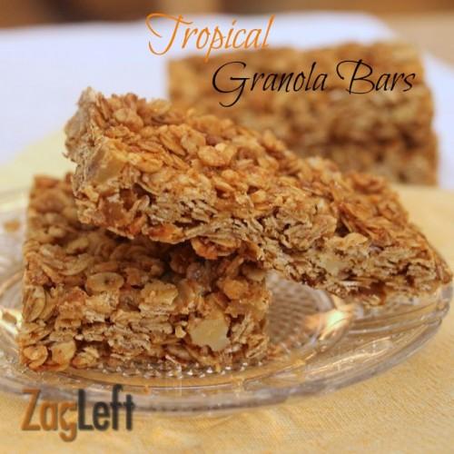 Tropical Granola Bars from ZagLeft main
