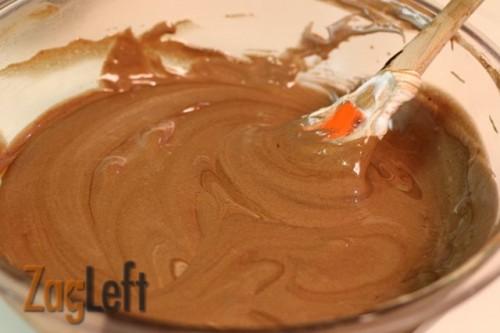 Fallen Chocolate Cake blending from ZagLeft