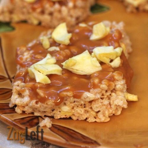 Caramel Apple Rice Krispies Treats : from ZagLeft