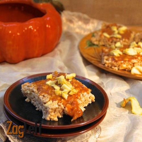 Caramel Apple Rice Krispies Treats from ZagLeft
