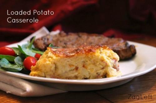 Loaded Potato Casserole from ZagLeft