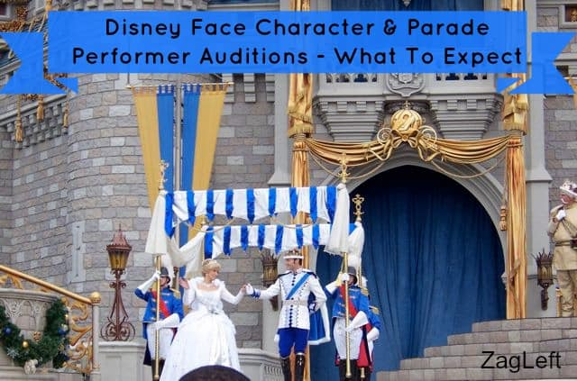 Disney Face Character and Performer Auditions - What to expect ZagLeft