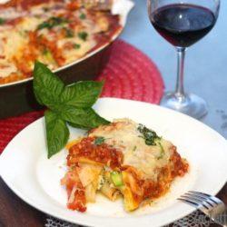 Pumpkin Lasagna from ZagLeft