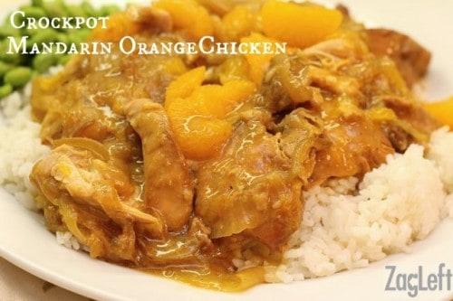 Crockpot Mandarin Orange Chicken Recipe from ZagLeft