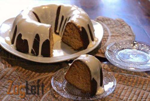 Eggnog Bundt Cake with Creamy Eggnog Glaze : ZagLeft