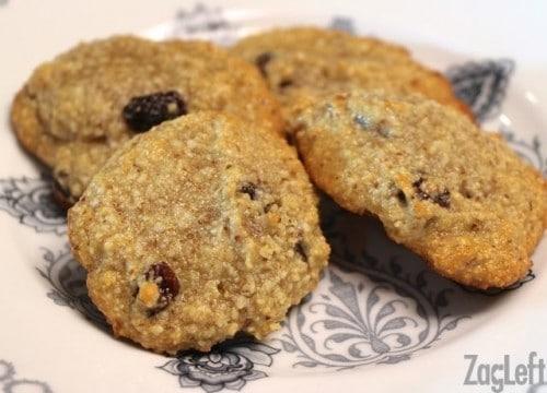 Gluten Free Coconut Cashew Cookie Recipe from ZagLeft