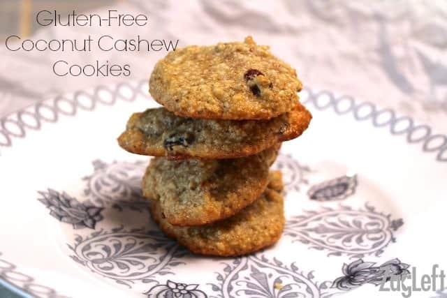 Gluten Free Coconut Cashew Cookies - ZagLeft