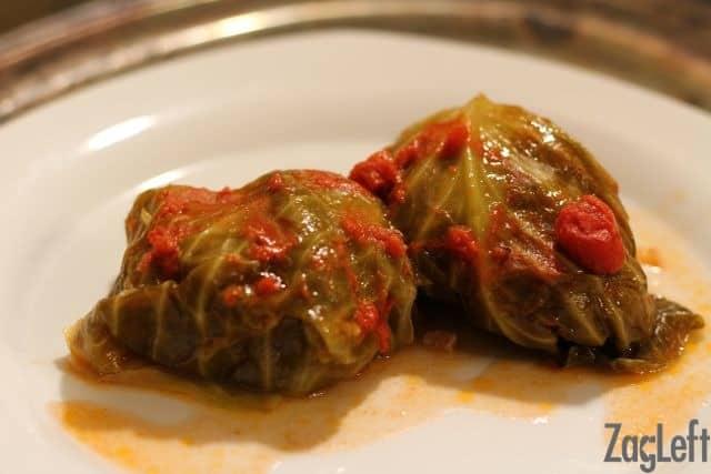 Golabki Recipe - Cabbage Rolls - from ZagLeft