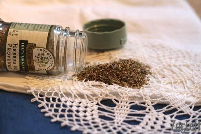 Baked Penne with Roasted Vegetables - Herbes de Provence - ZagLeft
