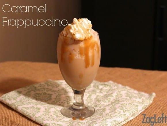 Caramel Frappuccino Recipe - www.zagleft.com