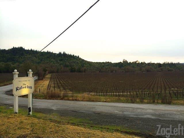 The Raford Inn - vineyards - ZagLeft