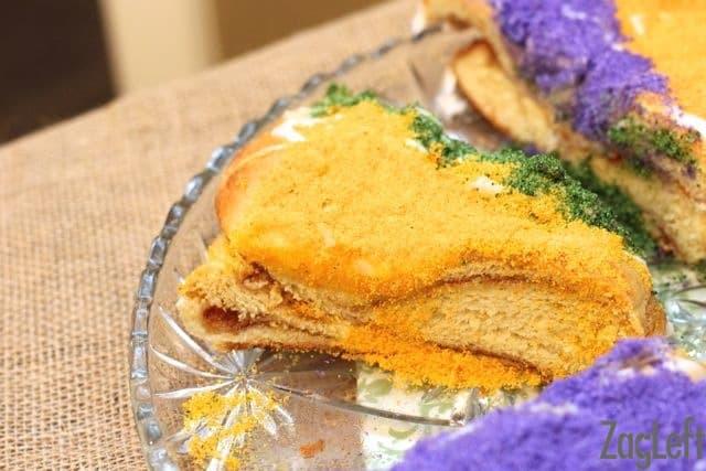 Slice of King Cake | ZagLeft