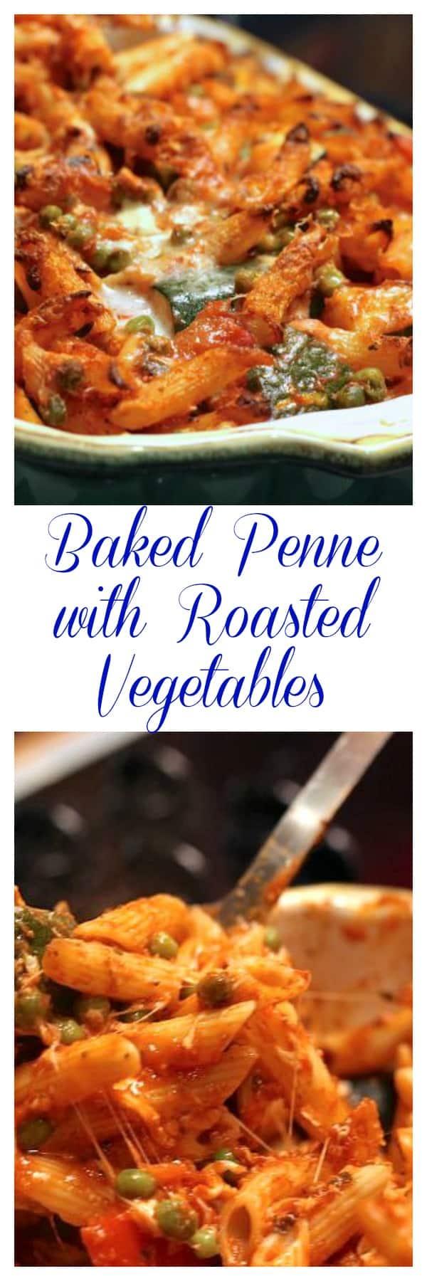 Baked Penne with Roasted Vegetables | www.zagleft.com