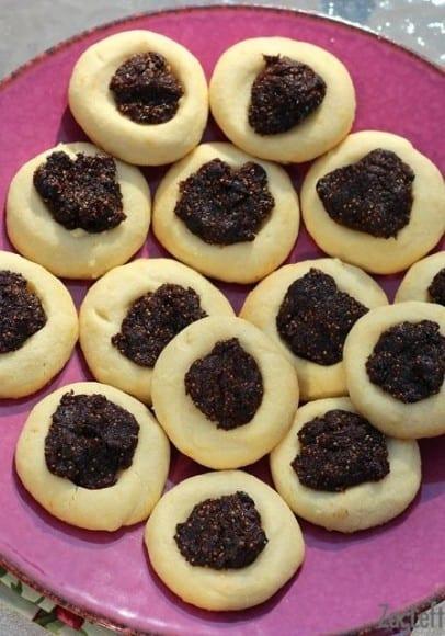 Fig Thumbprint Cookies : ZagLeft - 2
