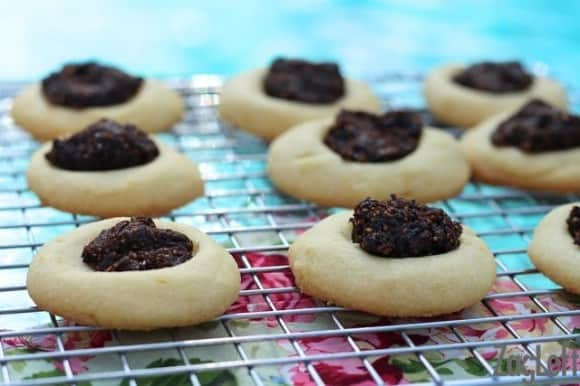 Fig Thumbprint Cookies from ZagLeft - 4