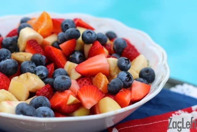 Fresh Fruit Salsa from ZagLeft