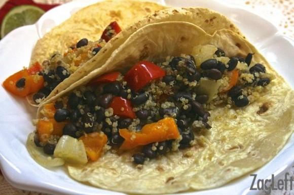 Black Bean, Shrimp & Corn Burritos Recipes — Dishmaps