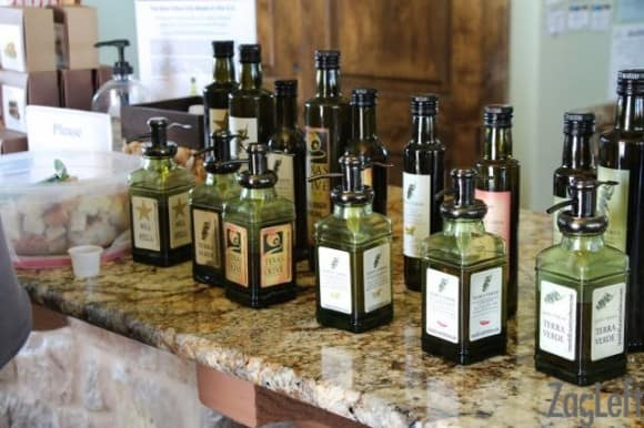 TExas Hill Country - olive oil tasting - zagleft