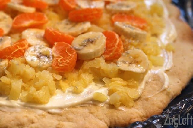 Pineapple Shortbread Pizza recipe - ZagLeft