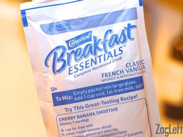 Carnation Breakfast Essentials for Key Lime Pie Smoothie - ZagLeft