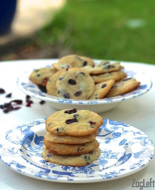 Soft and chewy Blueberry Cheesecake Cookies - so good! | ZagLeft