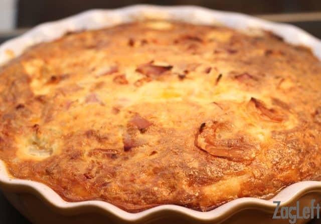 Beautiful Crustless Creole Quiche - ZagLeft